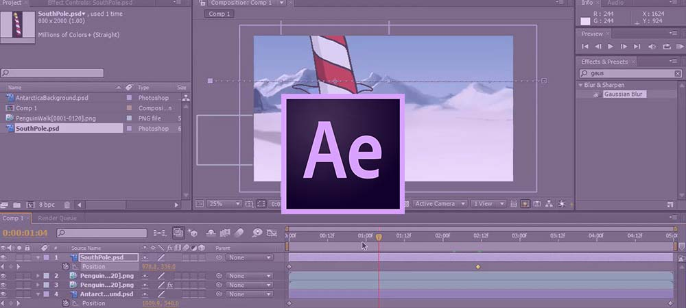 Σεμινάρια Adobe After Effects